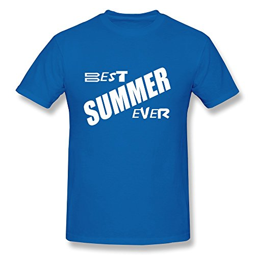 Maker Guy Best Summer Ever Pure Cotton Tee Shirts front-529400