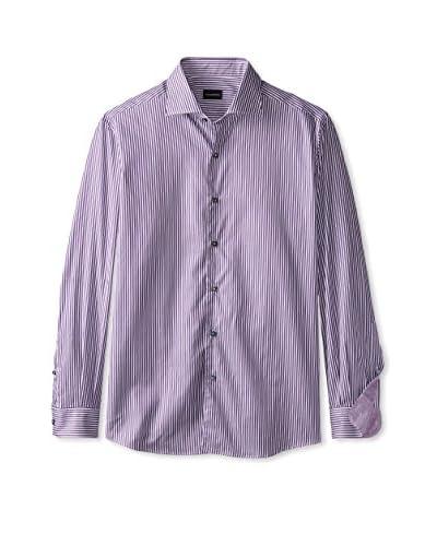 Ermenegildo Zegna Men's Stripe Sport Shirt