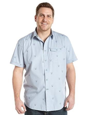 Nautica Big & Tall Anchor Sport Shirt