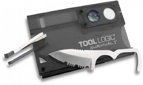 Tool Logic SVC1 Survival Card Tool With 1/2 Serrated