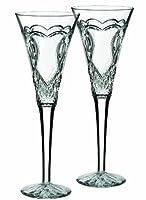 Waterford Wedding Toasting Flute - Lesbian Wedding Champagne Glass