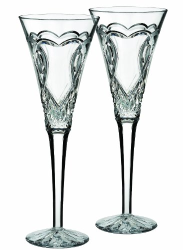 Waterford Wedding Toasting Flute, Set Of 2 front-104994