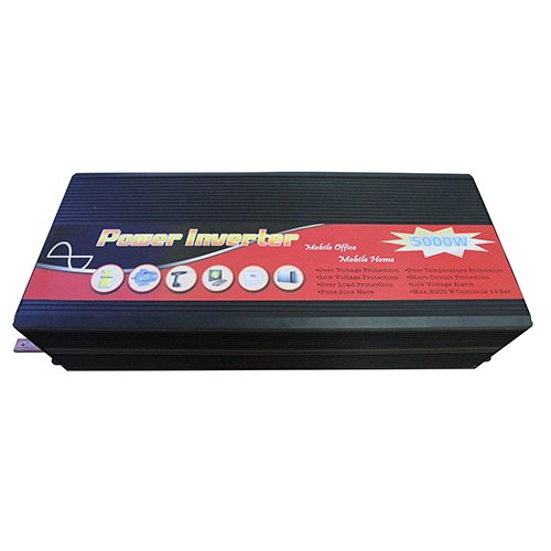 Gtsun 5000W Pure Sine Wave Power Inverter 10000 Peak Power Converts 12V Dc To Ac With Usb Output