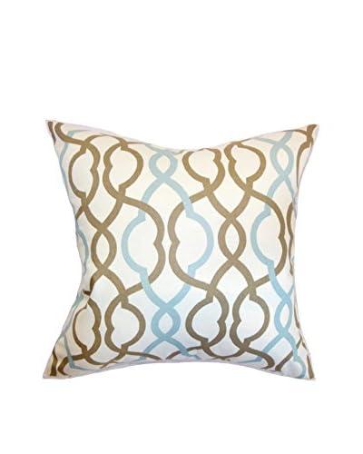 The Pillow Collection 18 Lori Pillow, Aqua
