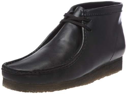 Clarks Wallabee Boot 001115937, Herren Boots, Schwarz (BLACK