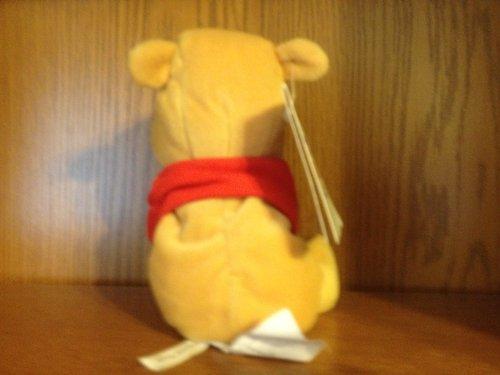 """Disney Beanie Mini Bean Bag Flower Pooh 8"""""""