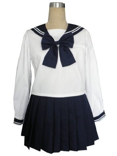 Royal Blue Sailor School Uniform Cosplay Costume