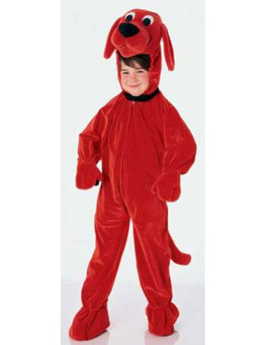 Clifford Big Red Dog Ch Kids Girls Costume - Rubies Co. Inc.