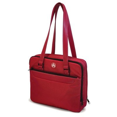 Mobile Edge Sumo 12-Inch Netbook Purse - Red with White Stitching