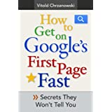 How to Get on Google's First page FAST: Secrets They Won't Tell You ~ vitold chrzanowski