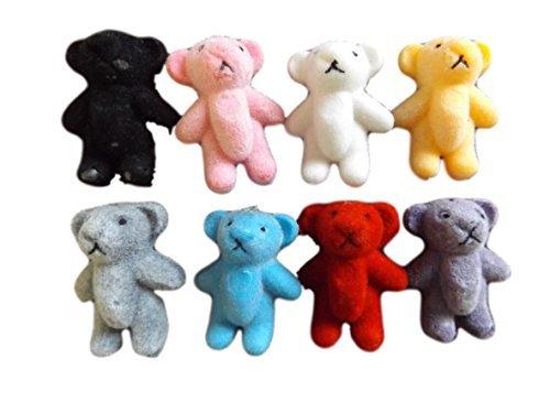 5-or-10-small-tiny-felt-miniature-dolls-house-craft-teddy-bears-1-12th-scale-various-colours-14-tall