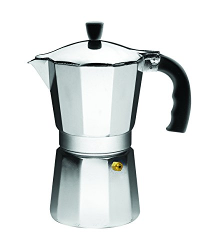IMUSA USA B120-44V Aluminum 9-Cup Coffeemaker, Silver (Imusa Espresso Coffee Maker compare prices)