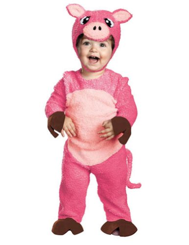 Pinky Pig Toddler Costume 12-18 Month - Toddler Halloween Costume