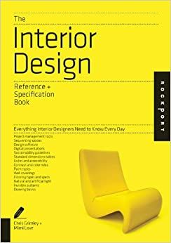 The interior design reference specification book for Interior design reference manual