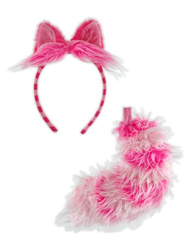 Cheshire Cat Ears & Tail Set Elope 423500