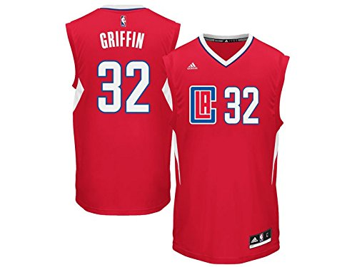 adidas-maillot-nba-blake-griffin-los-angeles-clippers-rouge-adidas-replica-2016-taille-l