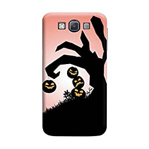 MakemyCase Samsung A5 Moon with Art 3D Matte Finishing Printed Designer Hard Back Case Cover (Multicolor)