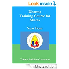 Triratna Dharma Training Course Year 4
