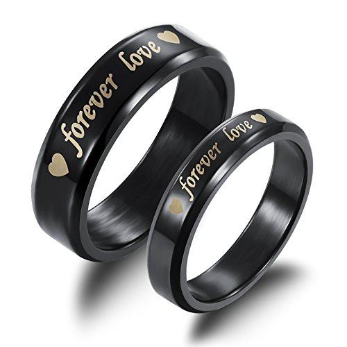Fate Love Titanium Steel Black