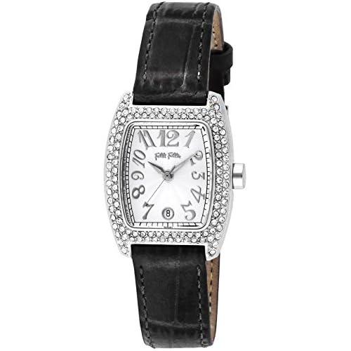 [フォリフォリ]Folli Follie 腕時計 S922ZI SLV/BLK レディース [並行輸入品]