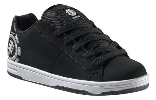 Element Churchill Shoes - Black/ Grey/ White - Size 11.5