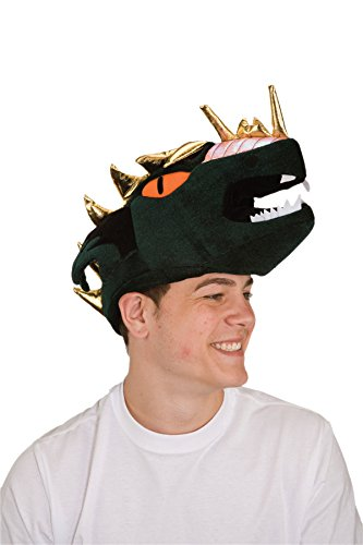 Jacobson Hat Company Adult Velvet Dragon Head Hat