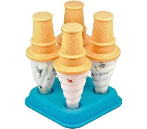 Tovolo Ice Cream Pop Molds - Set of 4 (Ice Cream Cone Plastic compare prices)