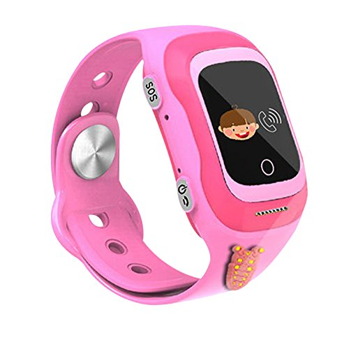 NS-Childs-Waterproof-and-Dustproof-Little-S-Kids-GPS-Tracker-Smart-Watch-SOS-Calls-Anti-lost-Pink