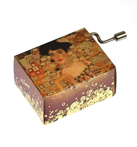 "Art Music Box - Gustav Klimt ""Adele Bloch Bauer""& Theme From Papillion ""Free As The Wind"" / ""Toi Qui Regardes La Mer"""