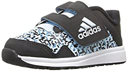adidas Performance Baby Snice 4 CF I Sneaker, Black/Ice Blue Craft/Blue Fabric, 6 M US Infant