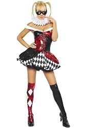 Sexy Clown Costume - Medium/Large - Dress Size 6-10