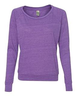 Alternative Junior Fit Eco Jersey Slouchy T-Shirt 1990E1 Eco True Purple S