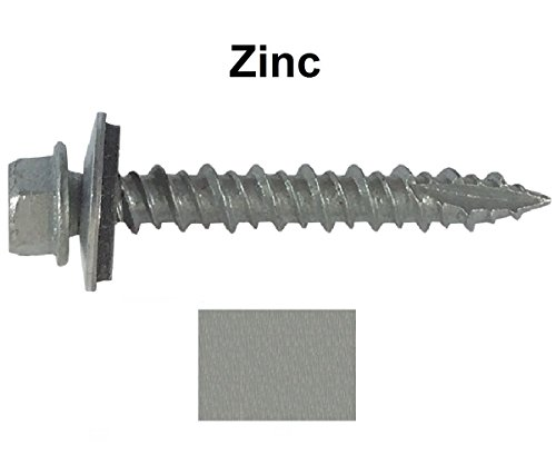 metal-roofing-screws-250-screws-x-1-1-2-zinc-hex-washer-head-sheet-metal-roof-screw-self-starting-se