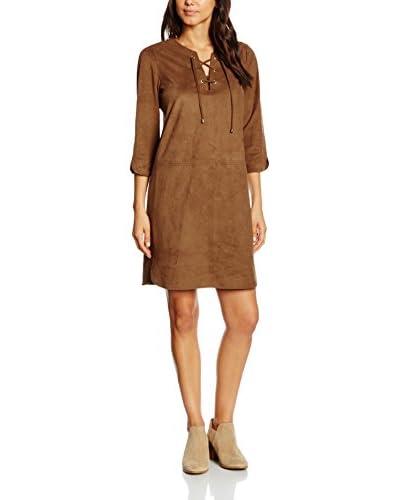 Cortefiel Kleid braun