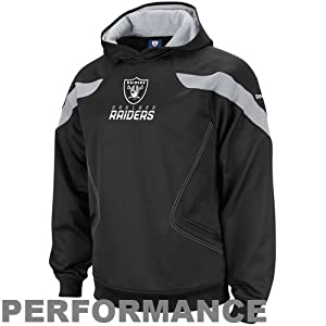 Reebok Oakland Raiders Sideline Kickoff Hooded Sweatshirt by Reebok