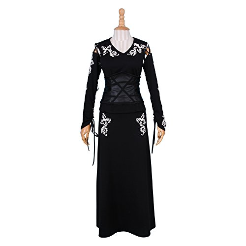 BFJ Harry Potter Bellatrix LeStrange Black Dress Cosplay Costumes