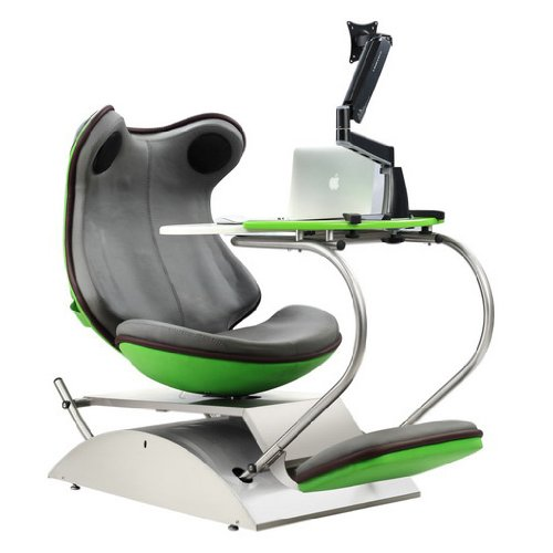 Merveilleux Frog 4.0 Green Massage Chair With Built In Speakers