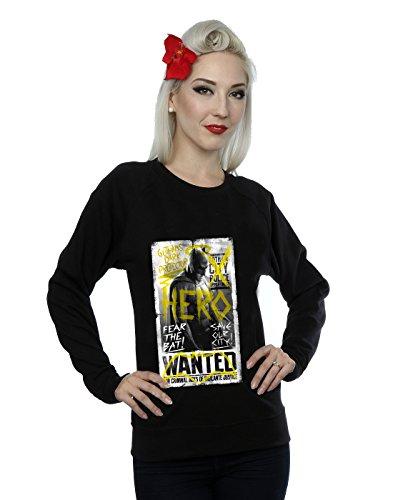 DC Comics Donna Batman v Superman Wanted Poster Felpa Small Nero