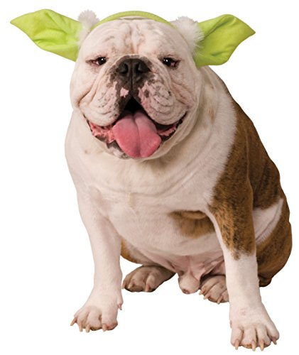 Rubies Costume Company Star Wars Classic Yoda Dog Headpiece, Medium/Large - 1