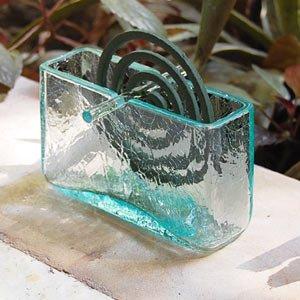 【アジア工房】ガラスで出来たフレスコタイプの蚊遣り[10016] [並行輸入品]