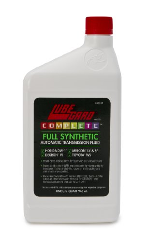 Lubegard 69032 Complete Full Synthetic Automatic Transmission Fluid - 32 oz. (Honda Transmission Atf Dw1 compare prices)