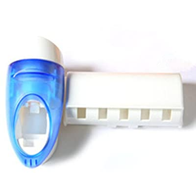 Bullet Automatic Squeeze Toothpaste Device Toothbrush Holder.