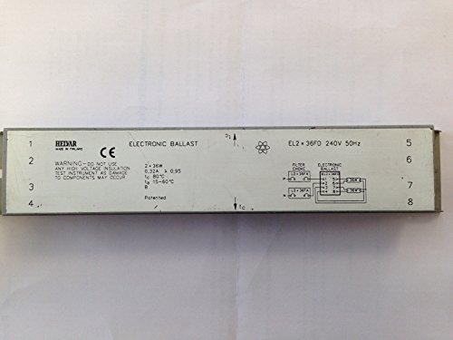 HELVAR EL2X36FD ELECTRONIC BALLAST (2X36W T8)