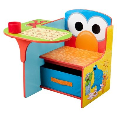 picture Sesame Street Chair Desk