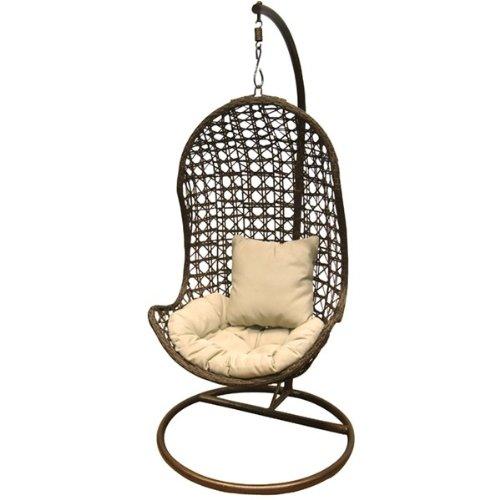 Hängeleuchte swing pod Sessel Gartenmöbel Farbe: schwarz günstig online kaufen