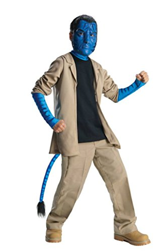 Boys Avatar Jake Sulley Deluxe Kids Child Fancy Dress Party Halloween Costume