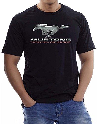 Fs - Mens' - Ford Mustang 289 - T-Shirt - Black (L)