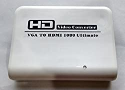 VGA and Audio to HDMI - HD Video Converter By Technotech