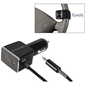 Kensington LiquidAUX Bluetooth Car Kit with Remote for Music Phones