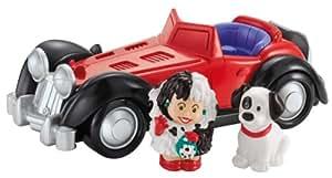 Fisher-Price Little People Disney 101 Dalmatians Cruella De Vil Vehicle
